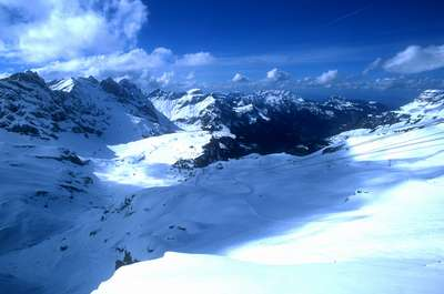 View from top of Mt. Titlis